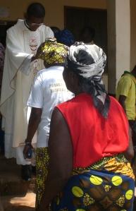 Primizsegen nach der Messe